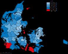 Andel af boliger uden tilmeldte beboere. 1. januar 2014