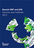 Danish GDP and GNI, Sources and methods